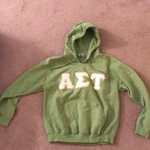 Alpha Sigma Tau sweatshirt